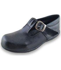zapato negro ragazzini