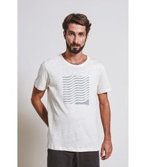 camiseta armadillo t-shirt waves box masculina - masculino