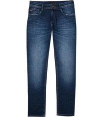 calça dudalina premium washed dark blue masculina (jeans escuro, 50)