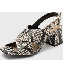 sandalia gris  caprice