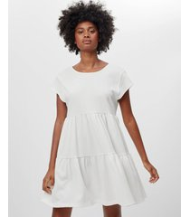 babydoll jurk met korte mouw