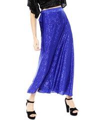 falda pippa padang azul - calce holgado