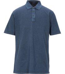 blu cashmere polo shirts