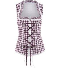 corsetto bavarese (viola) - bpc bonprix collection