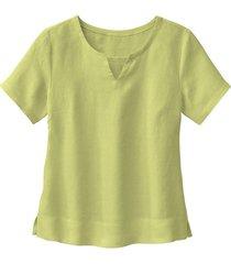 linnen bloesshirt, avocado 38
