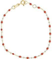 ruby bead classic gigi bracelet