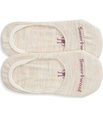 women's smartwool 2-pack no-show socks, size small - beige