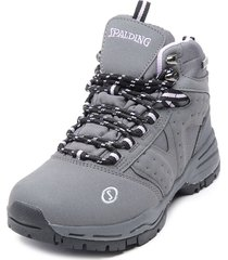 zapatilla hydra high waterproof iii gris spalding