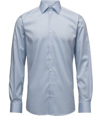 plain fine twill shirt,wf overhemd business blauw lindbergh