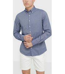 gant the oxford shirt slim bd skjortor persian blue