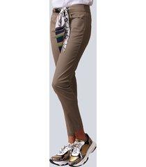 broek alba moda taupe