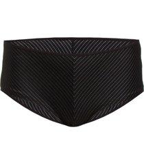 md gloria pinstripe braz. short 12 hipstertrosa underkläder svart marlies dekkers