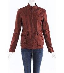bottega veneta cotton zip jacket