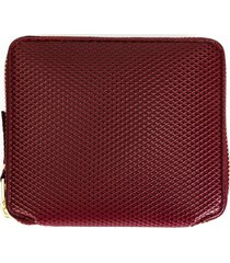 comme des garçons wallet 'luxury group' wallet - red