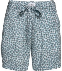 carla print shorts flowy shorts/casual shorts blå line of oslo
