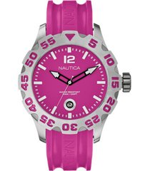 reloj outdoor rosa nautica