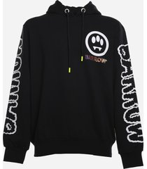 barrow cotton sweatshirt with all-over prints
