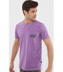 camiseta billabong charger roxa - roxo - masculino - dafiti