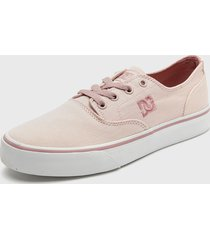zapatilla   flash 2 tx mx j shoe  rosado dc