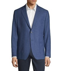 classic-fit wool silk linen sport jacket