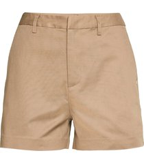 'abott' organic cotton chino shorts shorts chino shorts beige scotch & soda