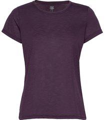 texture tee t-shirts & tops short-sleeved lila casall