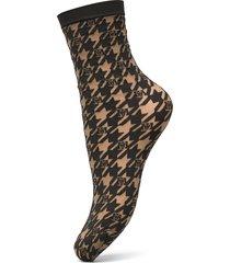 logo passion socks lingerie socks footies/ankle socks svart wolford