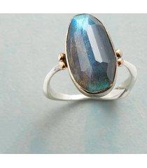 lofty labradorite ring