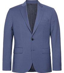 hopper soft-comfort wool blazer colbert blauw j. lindeberg