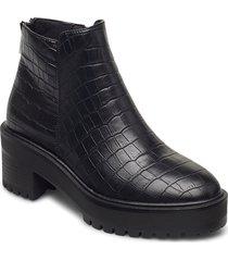vmmelba boot shoes boots ankle boots ankle boot - heel svart vero moda