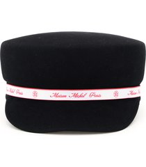 maison michel abby felt sailor cap