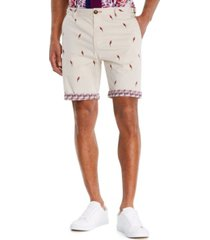 "brooklyn brigade men's standard-fit 9"" arini flat front shorts"