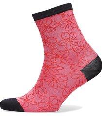 flowdy sora sock lingerie socks regular socks rosa becksöndergaard