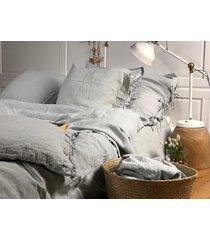 lniana poszewka na poduszkę pearl grey