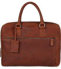laptoptas burkely leren laptoptas 13.3 inch antique avery