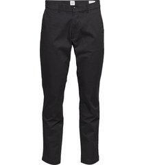 modern khakis in slim fit with gapflex chinos byxor svart gap