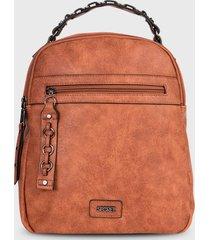 mochila belfast  marrón secret