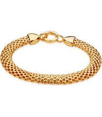 gold doina wide chain bracelet