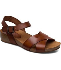 skyler shoes summer shoes flat sandals brun pavement