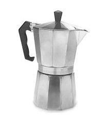 cafeteira tipo italiana moka 2 xícaras.