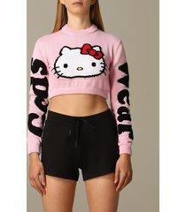gcds sweater gcds cropped shirt with hello kitty