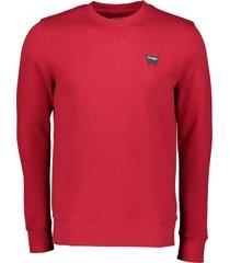 wrangler sweater - modern fit - rood