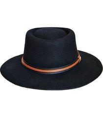 sombrero fieltro ecuestre negro viva felicia