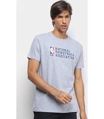 camiseta nba new era logoman essentials masculina
