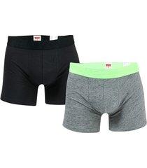 mens injected slub 2 pack boxer shorts