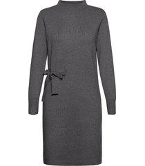 bernice knit dress knälång klänning grå minus