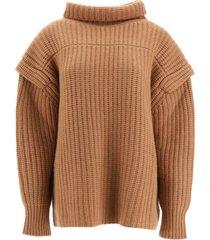 loulou studio parata wool sweater