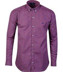 camisa bordó brooksfield brighton cuadros 10
