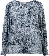 blus leo blouse