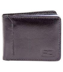 bauarte - carteira de couro com porta cheques bauarte - carteira de couro com porta cheques preto